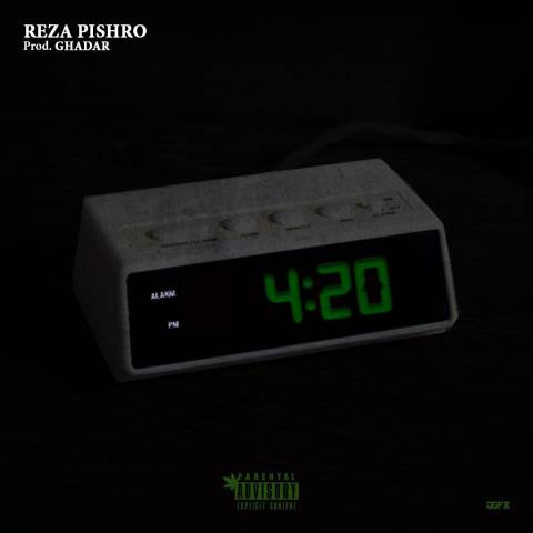 reza pishro 420 متن آهنگ 4:20 (420) از رضا پیشرو