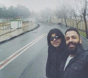 عکس سیروان خسوری در کنار کاوه یغمایی